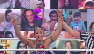 Bianca Belair ganó el Royal Rumble