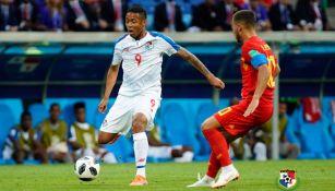 Gabriel Torres durante un partido con Panamá