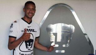Gabriel Torres, nuevo jugador de Pumas
