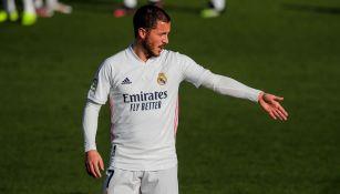 Real Madrid: Eden Hazard volvió a lesionarse y será baja más de un mes