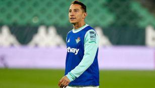 Andrés Guardado previo a un duelo con Betis