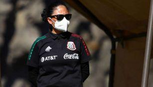 Monica Vergara, directora técnica de la Selección Nacional Femenil