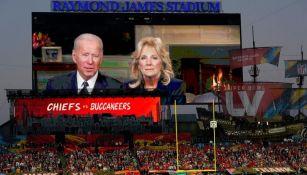 Joe Biden mandó un mensaje en el Super Bowl LV