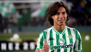 Diego Lainez podrá volver a jugar con Betis