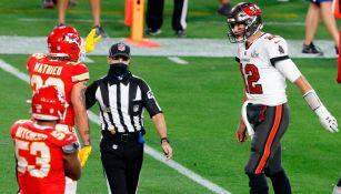 Super Bowl LV: Tyrann Mathieu acusó a Tom Brady de decirle algo irrepetible en el juego