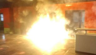 Incendio en las instalaciones del Metro