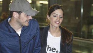 Sara Carbonero con Iker Casillas
