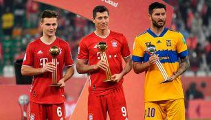 André-Pierre Gignac recibió el Balón de Plata del Mundial de Clubes