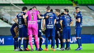 Jugadores de Chivas previo a enfrentar a León