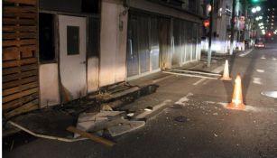 Terremoto de 7.1 grados sacudió Japón