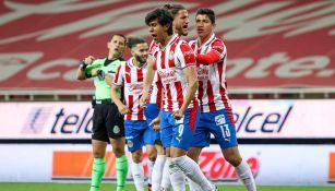 El festejo del gol de JJ Macías