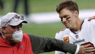Brady y Arians, en un juego de los Buccaneers