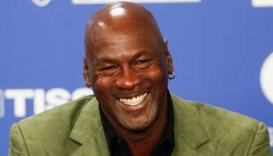 Michael Jordan, en conferencia de prensa