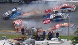 Varios autos se vieron afectados