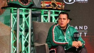 Eddy Reynoso previo a un combate