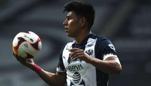 Jesús Gallardo en partido