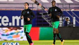 Félix Torres previo al San Luis vs Santos