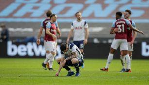 Tottenham no pudo con el West Ham y cayó 2-1