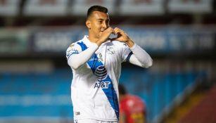 Daniel Álvarez marcó el empate poblano