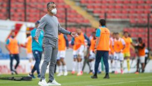 Altamirano en el partido vs Puebla