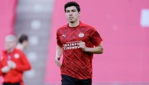 Erick Gutiérrez: Titular con el PSV ante el Vitesse