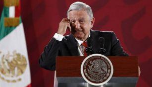 López Obrador, en conferencia de prensa
