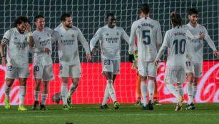 Real Madrid en partido