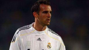 Christoph Metzelder jugando con Real Madrid