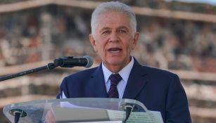 Carlos Padilla Becerra, durante un evento