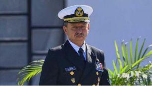Secretario de Marina durante un evento