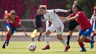 Selección Mexicana Femenil: Igualó en segundo juego ante Costa Rica