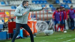 Paulo Pezzolano: ' Nos está costando meter los goles'