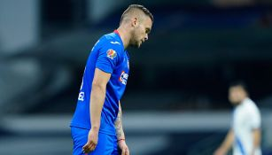 El Cabecita Rodríguez se lamenta en un juego con Cruz Azul