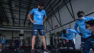 Rayados realiza exámenes físicos