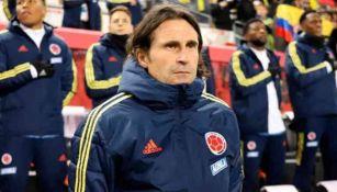 Des McAleenan en un partido de la Selección Colombiana
