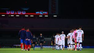 Pumas y Chivas previo a enfrentarse