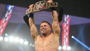 Lashley en un evento de WWE