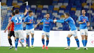 Chucky Lozano: Napoli retomó el camino de la victoria al vencer al Benevento