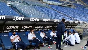 Lazio se presentó a la cancha
