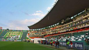 Estadio León previo a un juego de la Liga MX