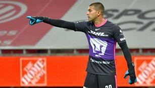 Pumas: Julio González sufrió un esguince en la rodilla derecha