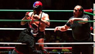 Fuerza Guerrera y Octagón durante una pelea