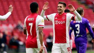 Edson Álvarez: Provocó penalti en victoria del Ajax sobre el Groningen