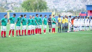 Haití jugó contra un equipo amateur de México
