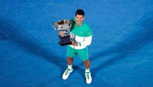 Djokovic en el Abierto de Australia