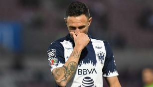Miguel Layún, jugador de Rayados, en lamento