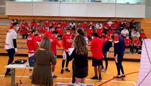 Chivas: Jugadores asistieron a plática sobre violencia de género