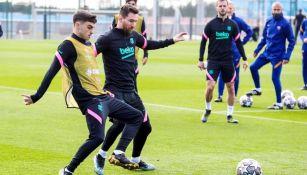 Barcelona se prepara para el juego