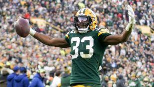 Green Bay Packers no etiquetó a Aaron Jones como jugador franquicia