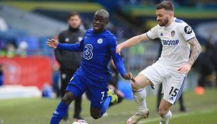 Así se peleó el balón en el Leeds United contra Chelsea